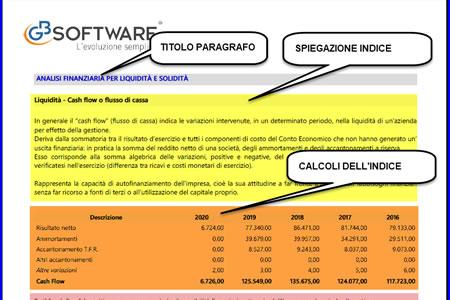 Software Analisi di Bilancio - Relazione